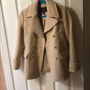 Jcrew new pea coat size 00